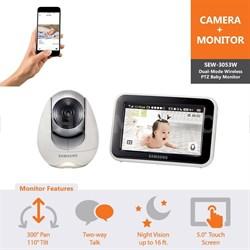 Baby Monitor Dual Mode WiFi - SEW-3053W - OPEN BOX