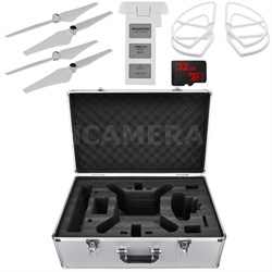 Phantom 3 Extended Flight Drone Photography Bundle
