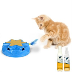 Catty Whack Interactive Sound and Feather Action Cat Toy (1400012971)