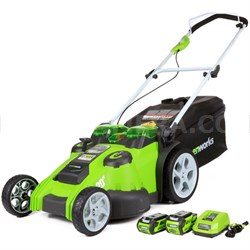 G-MAX 40V 20-inch Twin Force Mower (25302)