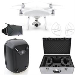 Phantom 4 Advanced Quadcopter Drone w/ VR Vue Bundle (CP.PT.000689)