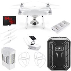 Phantom 4 Advanced Plus Quadcopter Drone w/ 64GB Travel Bundle (CP.PT.000698)