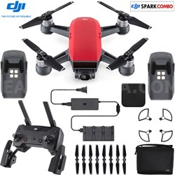 SPARK Fly More Drone Combo Lava Red - CP.PT.000901(OPEN BOX)