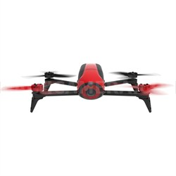 Bebop 2 Quadcopter Drone with HD Video 14 Megapixel Flight Camera (Red) PF726000