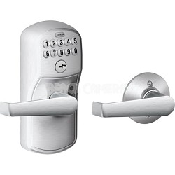 FE575 PLY 626 ELA Plymouth Keypad Entry with Auto-Lock and Elan Levers