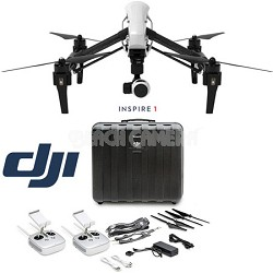 Inspire 1 Quadcopter with 2 Transmitters And Free Hard Case