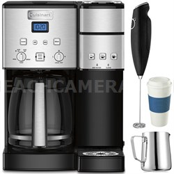 12-Cup Coffee Maker and Single-Serve Brewer with Coffee Drinker Bundle