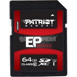 EP Series 64 GB Class 10 SDXC 3.0