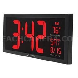 """AcuRite Digit 14.5"""" Clock"""