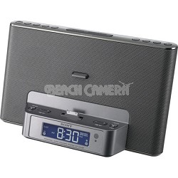 ICF-CS15IPSIL Speaker Dock for iPod and iPhone (Silver)
