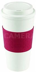 16-Ounce Capacity Reusable To Go Mug - Red