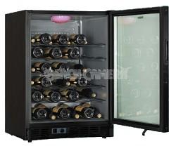 50-Bottle Built-In or Free Standing Wine Cellar (Black)