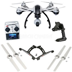 Typhoon Q500+ RTF w/ 3-Axis Gimbal Camera, Steady Grip, Case Ready to Fly Bundle