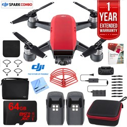 SPARK Fly More Drone Combo Lava Red - CP.PT.000901 Ultimate Bundle