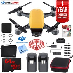 SPARK Fly More Drone Combo Sunrise Yellow - CP.PT.000900 Ultimate Bundle