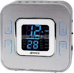 JCR-266 Wall-Mountable AM/FM Dual Alarm Clock Radio