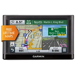 "nuvi 55LM GPS Navigation System with Lifetime Maps 5"" Display"
