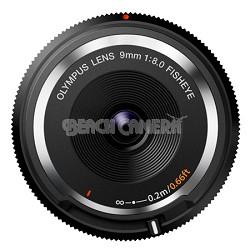 Fisheye Body Cap Lens 9mm BCL-0980 - Black