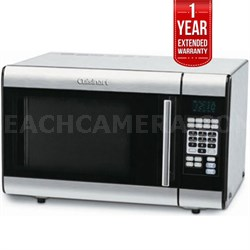 1-Cubic-Foot S.Steel Microwave Oven Refurbished + 1 Year Warranty