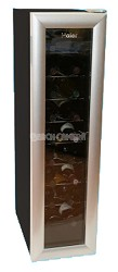 18 Bottle Thermoelectric Wine Tower Storage -Black/Silver