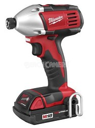 """2650-21 M18 Cordless LITHIUM-ION 1/4"""" Hex Compact Impact Driver"""