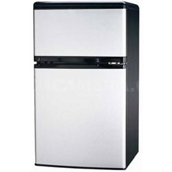 FR834 3.2 CU Ft Compact Fridge Freezer 2-Door, Platinum (OPEN BOX)