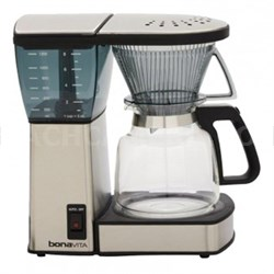 8-Cup Coffee Brewer with Glass Carafe (BV1800)