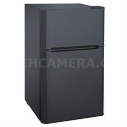 3.2 cu. ft. 2-Door Fridge with Freezer - FR832-BLACK