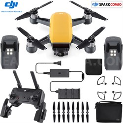 SPARK Fly More Drone Combo Sunrise Yellow - CP.PT.000900