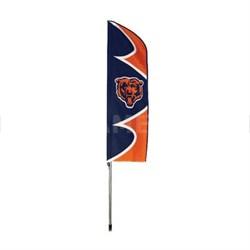 Bears Swooper Flag and Pole - SFCH