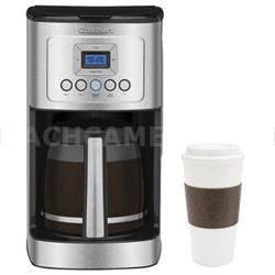 DCC-3200 Perfect Temp 14-Cup Programmable Coffeemaker Silver w/ Copco 16oz. Mug