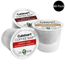 Coffee Bar K Cup Single Serve 48 Count (For All K-Cup Machines)