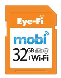 Mobi 32GB SDHC Card (Wireless to Mobile Devices)