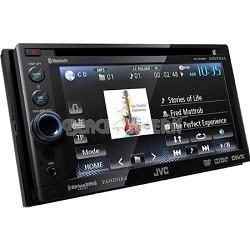 Bluetooth Double-DIN In-Dash ARSENAL DVD Multimedia Receiver (KWADV65BT)