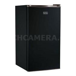 Compact Refrigerator Energy Star Single Door Mini Fridge with Freezer - BCRK32B