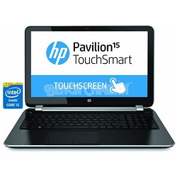 "Pavilion TouchSmart 15.6"" 15-n280us Notebook PC - Intel Core i5-4200U Processor"
