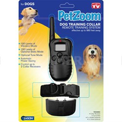 8609 Dog Training Collar with Shock Vibration