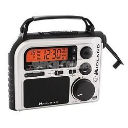Emergency AM/FM/WX Crank Radio (ER102)