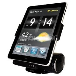 JiPS-250i Speaker Dock for iPad, iPod, and iPhone Works with every iPad!
