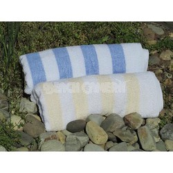 2 Quality Beach Towels 1 Blue & 1 Yellow