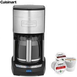 DCC-3650FR Extreme Brew 12-Cup Coffee Maker,Refurbished w/Asst K Cup Sample Pack