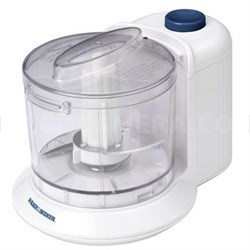 1.5-Cup One-Touch Electric Chopper in White - HC306 - OPEN BOX