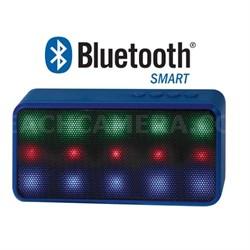 Prysm Wireless Bluetooth Speaker with Dazzling LED Lights - Blue