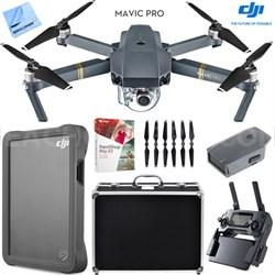 Mavic Pro Quadcopter Drone with 4K Camera, Custom Hard Case, 2TB Fly Drive Kit