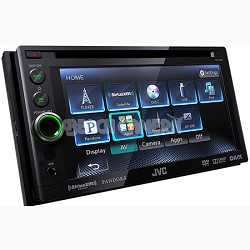 """DVD/CD/USB Receiver with 6.1"""" WVGA Touch Panel Monitor (KWAV61)"""