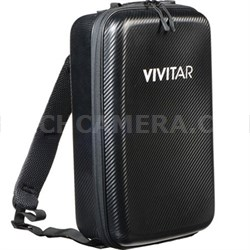 Hard Shell Compact Waterproof Case/Backpack for DJI Mavic Pro (Black) VMP-001