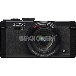 "MX-1 12 MP Black Digital Camera with 3"" LCD and 1080p HD Video"