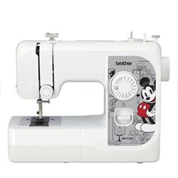 17- Stitch Disney Sewing Machine with Interchangeable Faceplates - SM1738D