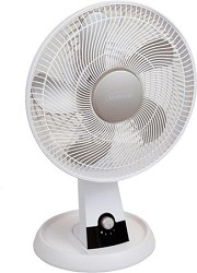 SDF1200-U 12-Inch 3-Speed Oscillating Table Fan