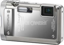 Stylus Tough 8010 Waterproof Shockproof Freezeproof Silver Camera REFURBISHED